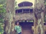 Hut at Padmapuram Garden